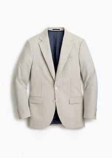 J.Crew Ludlow Slim-fit wide-lapel suit jacket in Japanese seersucker