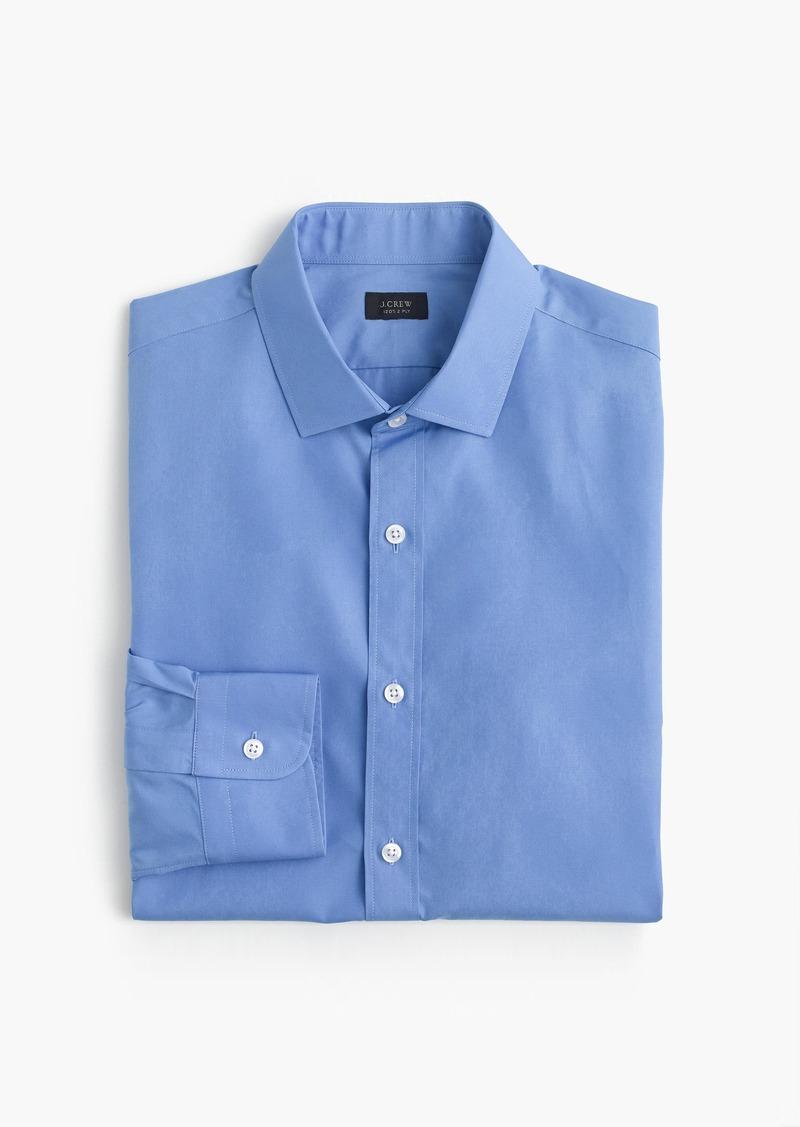 J.Crew Ludlow Slim-fit yarn-dyed shirt in blue