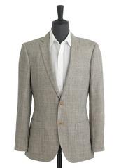 J.Crew Ludlow sportcoat in glen plaid Italian silk-linen