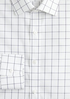 J.Crew Ludlow stretch two-ply easy-care cotton dress shirt in check