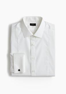 J.Crew Ludlow stretch two-ply piqué-bib tuxedo shirt