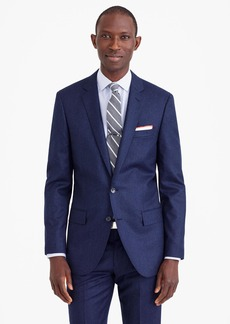 J.Crew Ludlow suit jacket in heathered Italian wool flannel