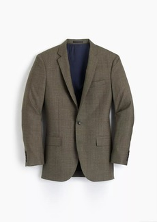 J.Crew Ludlow Slim-fit suit jacket in herringbone American wool