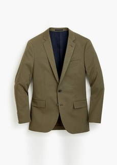 J.Crew Ludlow Slim-fit suit jacket in Italian stretch chino
