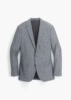 J.Crew Ludlow suit jacket in Japanese chambray