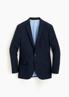 J.Crew Ludlow Slim-fit suit jacket in navy Italian cotton oxford