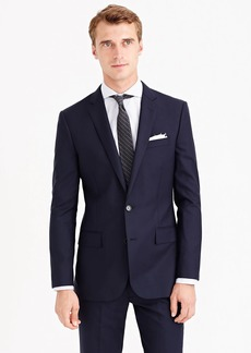 J.Crew Ludlow suit jacket with center vent in Italian wool