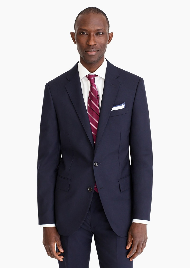 64f8384ab26a0f J.Crew Ludlow suit jacket with double vent in Italian wool | Outerwear