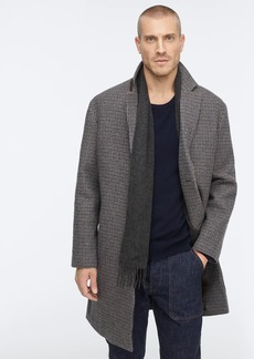 J.Crew Ludlow topcoat in Italian wool-blend houndstooth