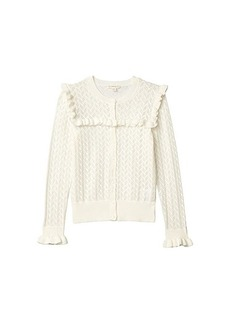 J.Crew Luna Cardigan Pointelle (Toddler/Little Kids/Big Kids)