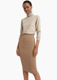 J.Crew Lurex® sweater tube skirt
