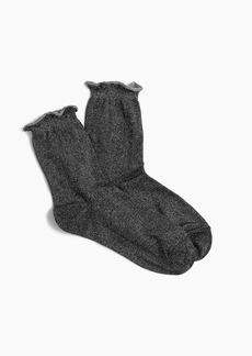 J.Crew Lurex® bootie socks
