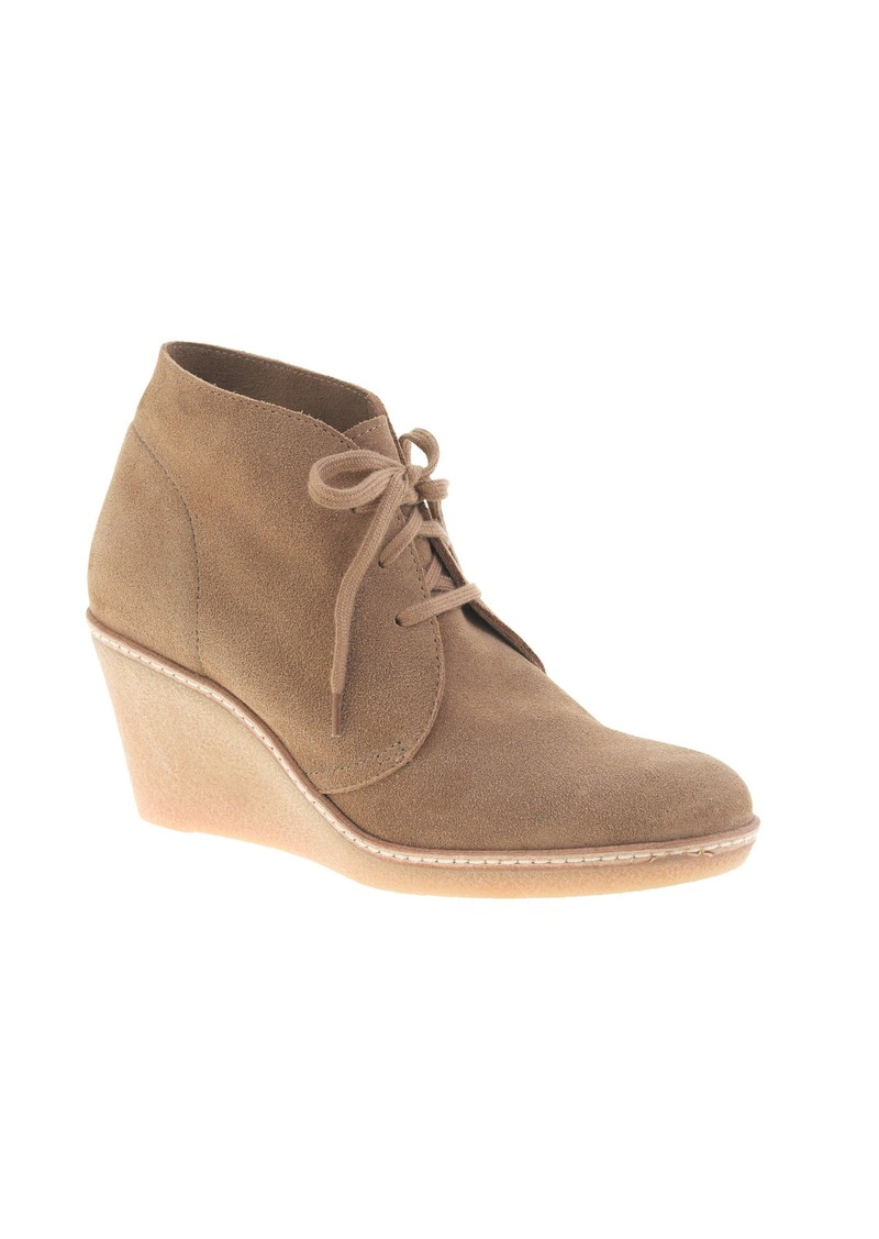 j crew macalister wedge boots shoes shop it to me