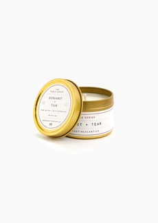 J.Crew Manready® Mercantile noble series travel size soy candle