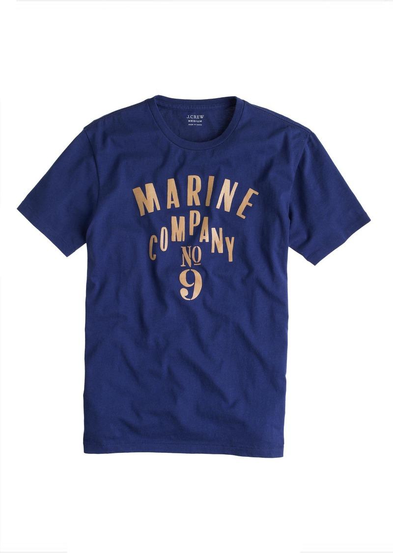 J.Crew Marine co. #9 T-shirt