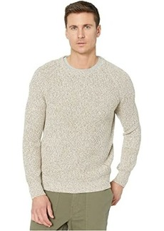 J.Crew Marled Cotton Raglan-Sleeve Crewneck Sweater