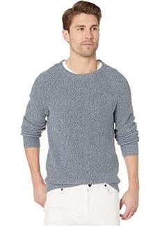 J.Crew Marled Cotton Raglan-Sleeve Crewneck Sweater