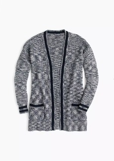 J.Crew Marled open-neck cardigan sweater