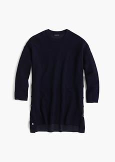 J.Crew Merino cotton oversized tunic sweater