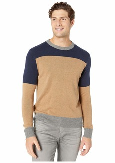 J.Crew Merino Nylon Color Block Crew