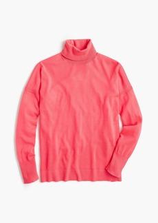 J.Crew Merino turtleneck sweater with side slits