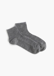 J.Crew Merino wool ankle socks
