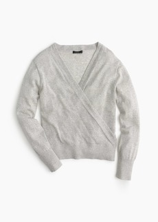 J.Crew Merino wrap sweater