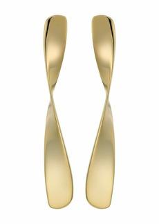 J.Crew Metal Linear Twist Earrings