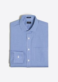 J.Crew Mini-gingham flex wrinkle-free dress shirt