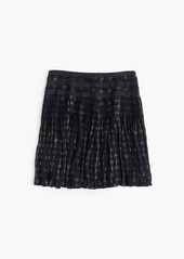 J.Crew Mini skirt with grosgrain ribbon