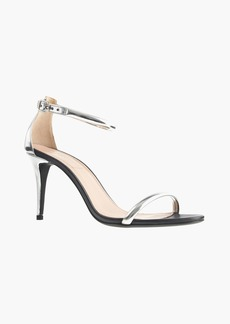 J.Crew Mixed leather strappy high-heel sandals