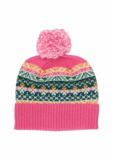 J.Crew Multicolor Fair Isle Beanie