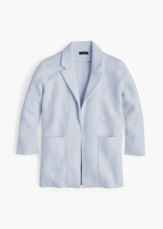 J.Crew New lightweight sweater-blazer