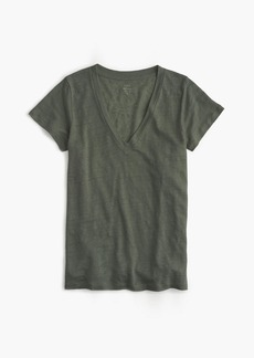 J.Crew New linen T-shirt