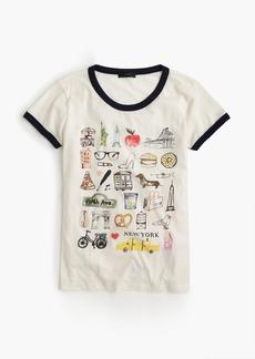 """""""New York"""" destination art T-shirt"""