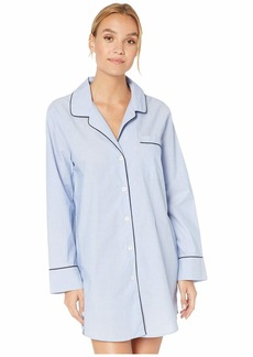 J.Crew Nightshirt in End on End Cotton