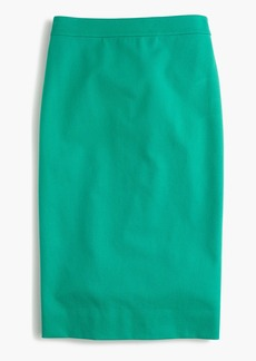 J.Crew No. 2 pencil skirt in two-way stretch cotton