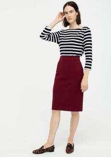 J.Crew No. 2 Pencil® skirt in four-season stretch