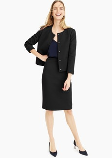 J.Crew No. 2 Pencil® skirt in matelasse