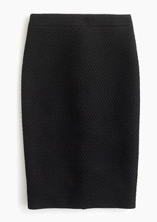 J.Crew No. 2 pencil skirt in matelasse