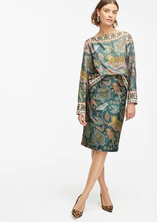 J.Crew No. 2  Pencil® skirt in ornate jungle print