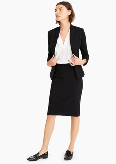 J.Crew No. 2 Pencil® skirt in stretch twill