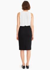 J.Crew No. 2 Pencil® skirt in stretch twill
