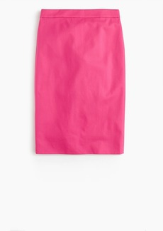 J.Crew Tall No. 2 pencil skirt in two-way stretch cotton