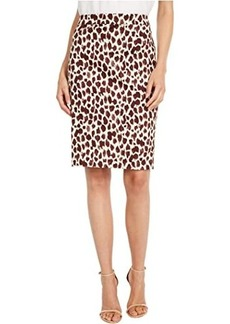 J.Crew No.2 Pencil Skirt in Giraffe
