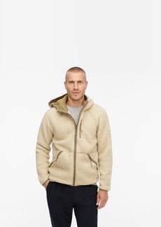 J.Crew Nordic hooded jacket in Polartec® sherpa fleece