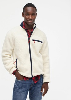 J.Crew Nordic jacket in Polartec® sherpa fleece