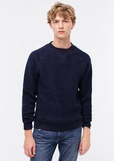 J.Crew Nordic Polartec® sherpa fleece crewneck sweatshirt