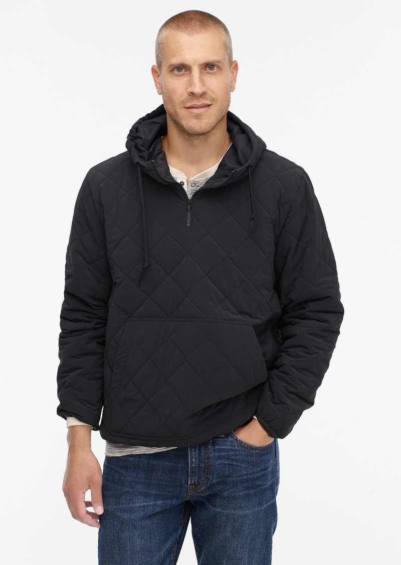 J.Crew Nordic quilted insulated hoodie with eco-friendly PrimaLoft®