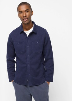 J.Crew Nordic shirt-jacket in Polartec® sweater fleece